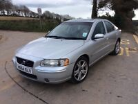S60 T5 SE Volvo 2005 Full Leather, 12 Months MOT, Low Mileage, Full Service History