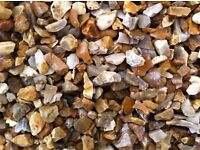 GOLDEN GRAVEL 20MM CHIPPINGS /DELIVERED IN DONCASTER/CALL FOR DETAILS 1-10t loads good