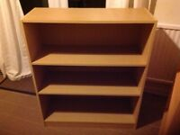 Beech-effect bookcases for sale