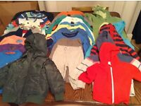 Bundle of boy winter clothes 9 to 12 months
