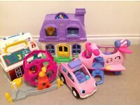 Large Bundle Little People Fisher Price toys smoke/pet free home good condition