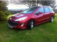 Peugeot 308Sport SW HDI 136 (7 seater)