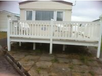 4 bedroom caravan to let in trecco bay porthcawl near all amentities and 5 mins from beach