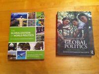 Two used politics textbooks
