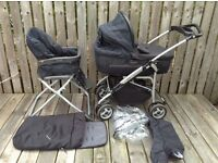 PRAM M&P MPX travel system, complete, great condition