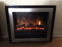 Dimplex optiflame electric fire . Wall mounted , never used Rrp £270