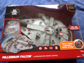 7 x Star Wars Toys: Unwanted prize from 'Big Issue' : Unused-never been taken out of their boxes.