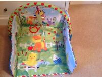 Mothercare playmat with sides and arch