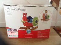Mama and Papas Snail rocker, never put together or used