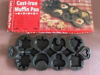 Lakeland Plastics Cast Iron Mini Muffin Pan