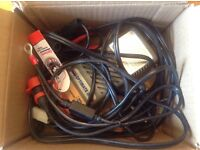 OPTIMATE 3 , Battery Desulphating-Charger. With Crocodile clips and Permanent bike lead