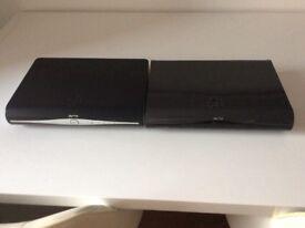 2 sky plus HD boxes ( mint condition)