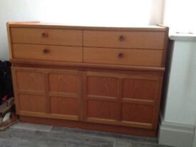 Excellent condition retro Nathan cupboard