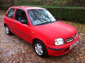 1999 NISSAN MICRA 1.0 **MOT AUGUST 2017** RUNS AND DRIVES PERFECTLY , GOOD CHEAP RELIABLE CAR