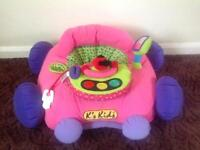 Baby Girls Soft Sit in Car