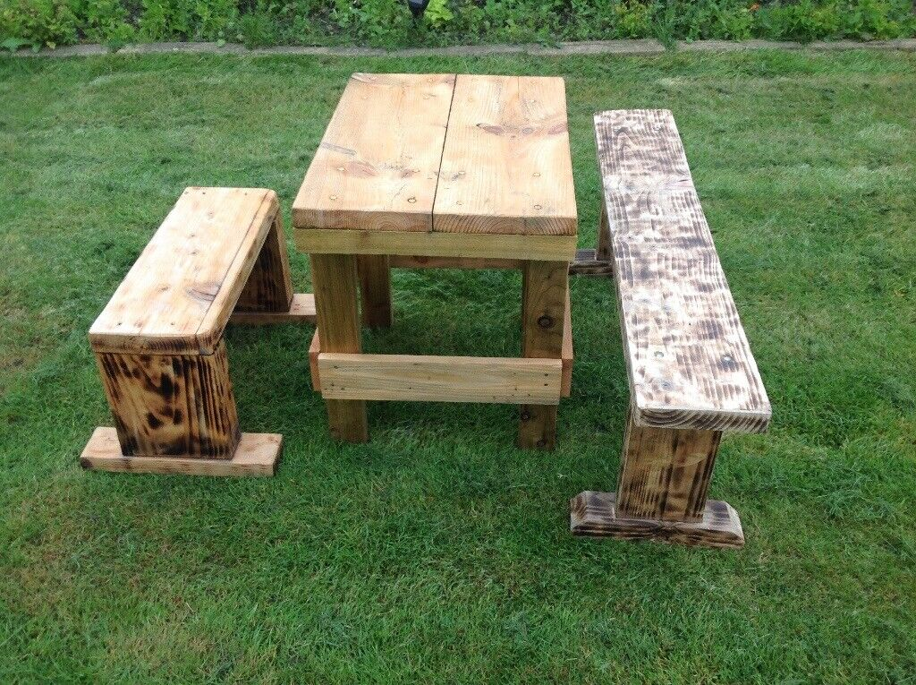 Terrific Rustic Garden Furniture In Ashington Northumberland Gumtree Ncnpc Chair Design For Home Ncnpcorg