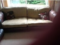 3 & 2 seater sofas. 2 double mattresses