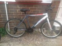 Mans 18 Speed Mountain Bike