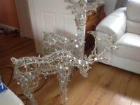 Illuminated Reindeers x 2