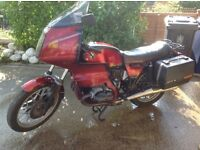 BMW R100 RS 1982 complete for restoration project