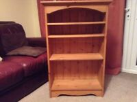 Book shelves: solid pine