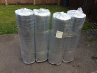 Laminate floor thermal foil backed insulation underlay 5mm thick 4 rolls