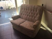 Two seat Parkanol Sofa. Free for collection, a donation to a children's charity would be appreciated