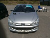 Peugeot 206 cc, low miles, long MOT, one owner