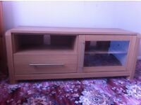 Large wooded TV stand