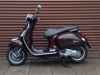 Piaggio Vespa GTS 125. Only 1991miles Nationwide Delivery Available *Credit & Debit Cards Accepted*