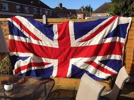 Large vintages Union Jack flag