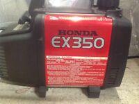Honda ex350 suitcase generator