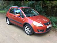 2007 SUZUKI SX4 1.6 GLX # 2 OWNERS # M.O.T TO MARCH 2017 # GENUINE LOW MILEAGE # MUST BE SEEN #