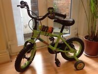 """Children's 12"""" bike (3-5 years) with accessories - EXCELLENT CONDITION!"""