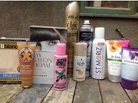 Hair and body beauty products