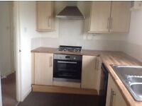 2 bedroom flat .Unfurnished . Secure entry .Gas central heating . Extended bathroom and utility room