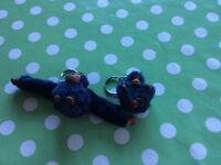 2 Kipling key rings