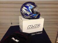 HJC special edition full face helmet NEW & BOXED