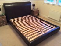 Imitation leather Double bed