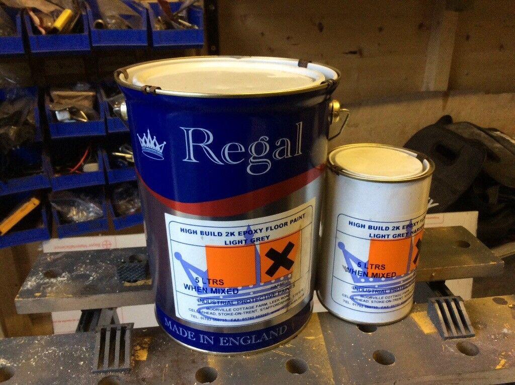Grey epoxy floor paint   in Whitburn, West Lothian   Gumtree
