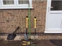 Garden set of tools