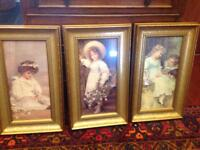 3 Victorian prints for £10