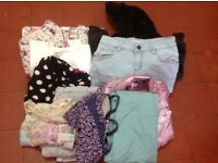 Bundle of girl's clothes age 8-9