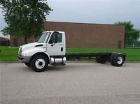 2013 International 4300 CAB AND CHASSIS