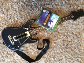 X box one guitar hero game