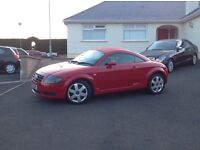 2002 Audi TT Quarttro 4x4 ++++225bhp +++++ 6 speed ++++ nice looking car ++++