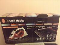 Russel electrical iron & iron board