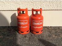 Gas bottles - propane 6 kg suit caravan, camper or barbecue.