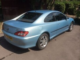 Peugeot 406 coupe 2.2 diesel for sale. Stylish Pininfarina design