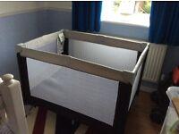 Babystart Argos travel cot with Argos East Coast mattress